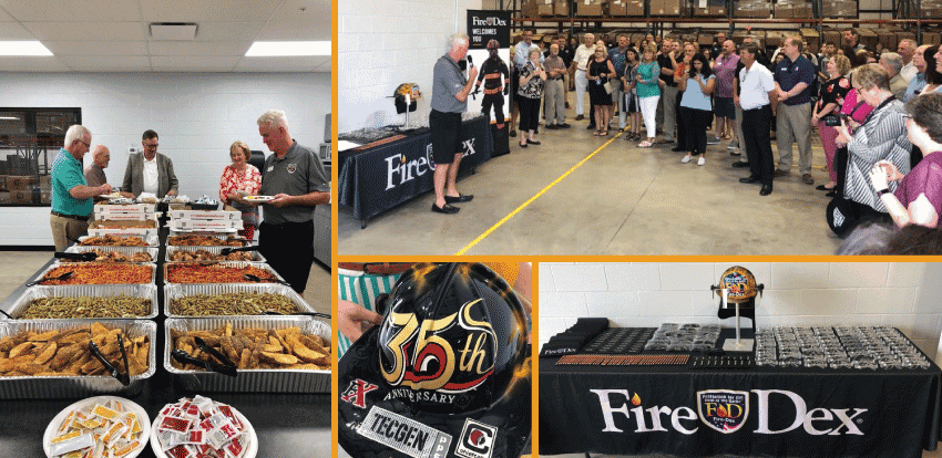 Ribbon Cutting Festivities for Fire-Dex Expansion