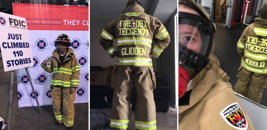 Firefighter Crystal Glidden