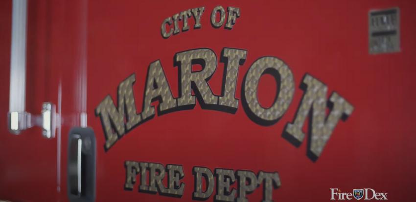 Marion Fire Department Fire Truck