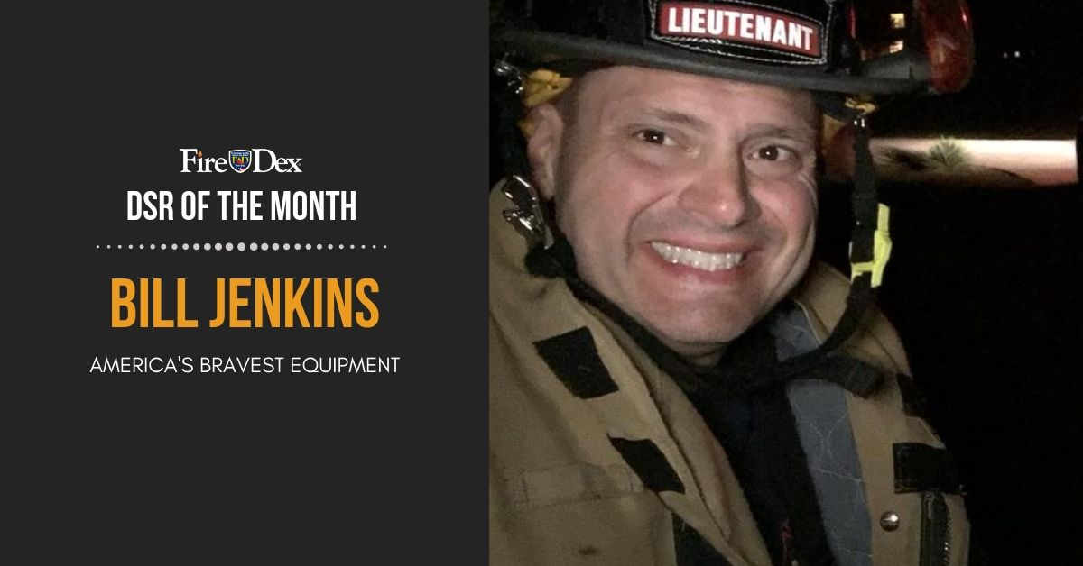 DSR of the Month_Bill Jenkins