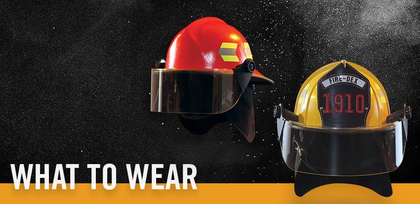 FD - What To Wear - Helmet